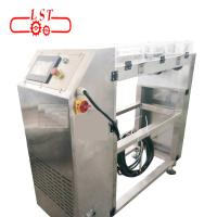 China Controllable Speed Chocolate Depositor Machine With Food Grade Conveyor Belt on sale