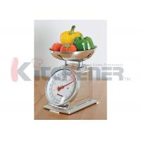 Quality FDA Stainless Steel Digital Kitchen Scale With Round Tray 20 Kgs * 50 Gram wholesale