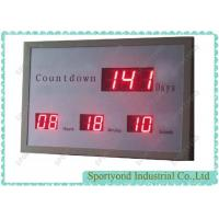Quality LED Digital Days Display with Electronic Countdown Timer and red light wholesale