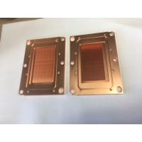 Quality Passivition / Nickel Plating Copper Base Plate Heat Sink Liquid Cooling Cold Plate For Servers wholesale