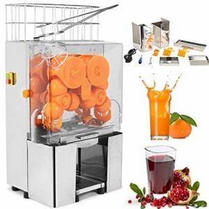 China Auto Feed Orange Squeezer Juicer Juice Extractor Machine Metal on sale