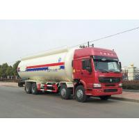 Quality Semi Bulk Cement Truck With 4 Stroke Electronic Fuel Injection Diesel Engine wholesale