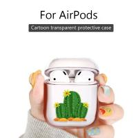 Quality Music tracker Protective Cartoon Clear PC Cover Chargeable Headphone Case for Apple Airpods 1&2 Charging Case wholesale