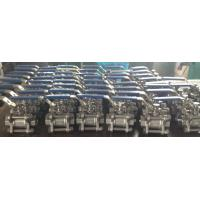 Quality Cast steel high pressure screwed & NPT ends 3pc body ball valve wholesale