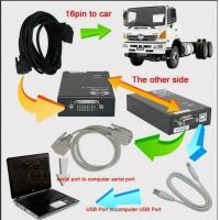 Quality Testing Programming Truck Hino Diagnostic Software Explorer With Ecu Harness Cable wholesale