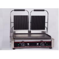 China Double Heads Electric Sandwich Griddle Snack Bar Equipment 110V/220V on sale