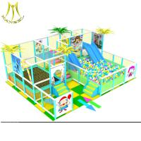 China Hansel used indoor playground equipment commercial kids indoor jungle gym game machines for children plastic castle on sale