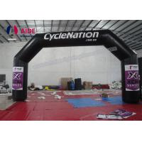 Quality Outdoor Inflatable Finish Line Arch , Lighting Inflatable Race Arch Gate wholesale