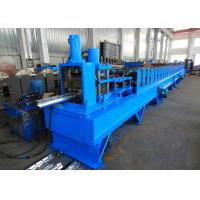 Quality PLC Controlled Custom Roll Forming Machine For Mesh Fence Dovetail / Peach Shape Posts wholesale