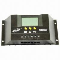 China 30A PWM Solar Charge Controller with LCD Display, Ideal for Home Use and Outdoor Lighting on sale