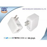 Quality 6W Loudspeaker 5V 1A Universal Travel USB Adapter UL FCC CEC  Approval wholesale