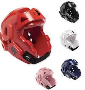 Quality Karate Taekwondo MMA PPE Safety Gear , Protective Sports Helmet PU Coating wholesale