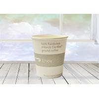 China Environmentally Safe Double Wall Paper Cup , Custom Logo Disposable Cups on sale