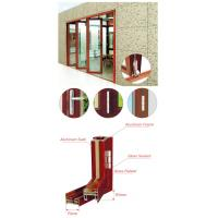 Buy cheap Living Room Entrance Aluminum Foldable Glass Door Flexible Sliding Closed from wholesalers