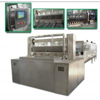 China 30kw Candy Production Line Fully Automatic Lollipop Pouring Machine on sale