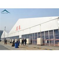 Quality PVC Roof Outdoor Exhibition Tents White / Clear / Orange , Fire Proof And Water Proof wholesale