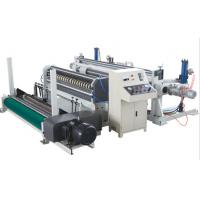 China Hydraulic Type Paper Roll Slitting Machine ,  Pneumatic Type Roll Rewinding Machine on sale