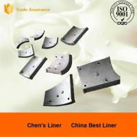 Quality Wearable Pearlitic Cr-Mo Alloy Steel Heat Resistant Castings , Large Ball Mill Liners wholesale