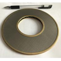 Quality 100 Micron 304 316 Stainless Steel Wire Mesh Filter Element 152mm Diameter wholesale