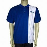 China Men's Polo Shirt With Rib Knit Collar, OEM Orders Welcomed on sale