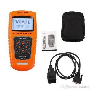 Quality Vgate Scan Tool VS600 V2.03 Vgate Scan OBDII/EOBD Scan Tool OBD2 vgate VS 600 Multi-Brand Auto diagnostic tool wholesale