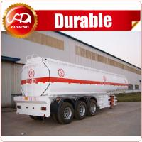 China China hot sale 42 m3 tri-axle farm water tank trailer with Steel or Aluminum Body on sale
