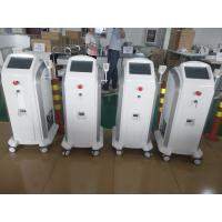Quality 808 755 1064 Hair Removing Laser Machine With  Max 120J / Cm2 V Energy Density wholesale