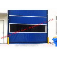 Quality Finished Surface PVC Automatic Industrial Garage Doors Roller Shutter With Visual Window wholesale