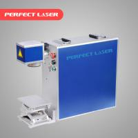 Quality Stainless Steel Laser Marking Machine Air Cooling With Ez - Card Control Software wholesale