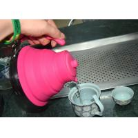 China Durable Heat Insulation collapsible silicone tea kettle  , FDA approved on sale