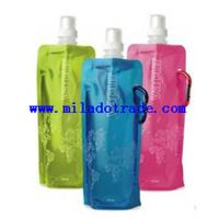 China FOLDABLE PLASTIC WATER BOTTLE on sale