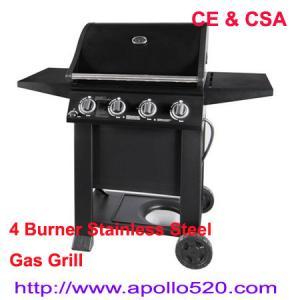 Quality Gas BBQ Grills 4burners wholesale