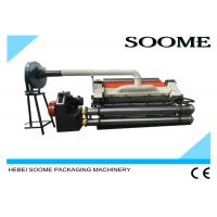 China High Speed Corrugated Single Facer Machine With Resin Sand Casting on sale