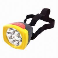 Quality LED Head Lamp with 6-piece LED Source and 2 Distinct Brightness Settings wholesale