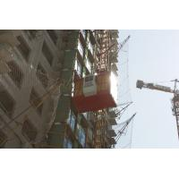 China Two cabins SC200 / 200 construction elevator / construction hoist / people and material hosit / Passenger Hoists on sale