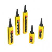 Quality NXAC Push Button Crane Components Pendent Controls Double Speed IP65 wholesale