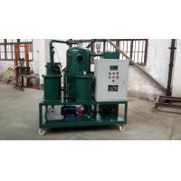 Quality ZLA Double-Stage Vacuum Insulating Oil Purifier/Waste Management/Oil Recycling wholesale