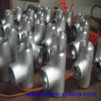 Quality XS XXS Stainless Steel Tee Pipe Fittings Tee 1/2-72 Inch WP309 Sch5-Sch160 wholesale