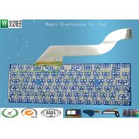 Quality Keyboard Membrane Switch Multilayer Flexible Circuits , 2 Layers Fpc Flex Circuit Board wholesale