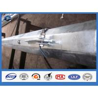 Q345 Q420 Q460 Hot dip Galvanized Electric Power Tranmission Steel Pole