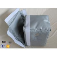 Quality Thermal material Silicone Coated Fiberglass Fabric Actuator Insulation Jackets wholesale