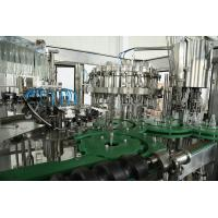 China High Precision Canned Wine Filling Machine / Wine Capping Machine 0000-12000bph on sale