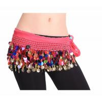China Beatiful  belly dance  hip scarf on sale