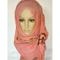Quality Hijab Scarf with Sequins (LC-C028) wholesale