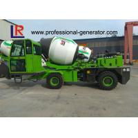 Buy cheap 2.6 Cubic Meters Concrete Mixer Truck , Maximum grade 30° CE ISO from wholesalers