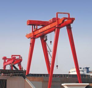 Quality Electric Port Shipyard Cranes Mining Maintenance for Building Vessels wholesale