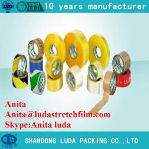 China Luda Carton Sealing Clear Packing Tape China Adhesive Tape on sale
