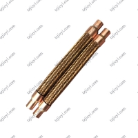 Quality Bronze braided corrugated hose can be used for air conditioning shock absorber pipe wholesale