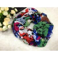 Quality Mixed Color Women Cotton / Voile Scarves Neck Warmers Of Winter wholesale