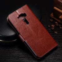 Quality Protective Cell Phone Leather Wallet Case For Zenfone 3 Magnetic Close wholesale
